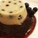 budini alla vaniglia e mirtilli