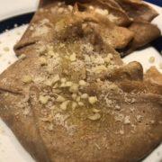 Crespelle con farina di castagne